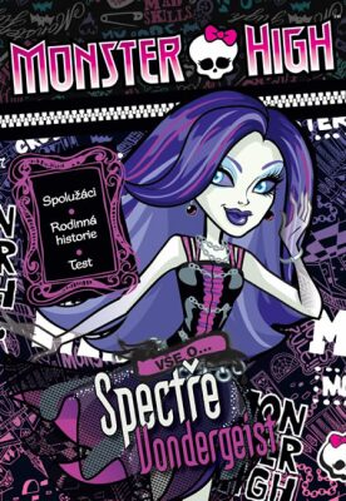 Monster High Vše o Spectře Vondergeist - Mattel