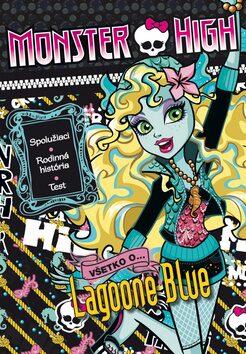 Monster High Všetko o Lagoone Blue -