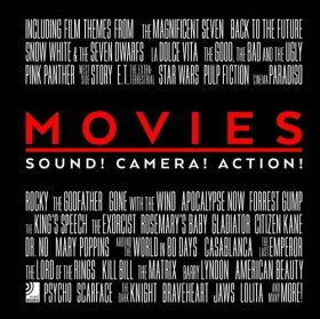 Movies: Sounds! Camera! Action! (+ CD) - René Valjeur, Stefanie Breitbarth