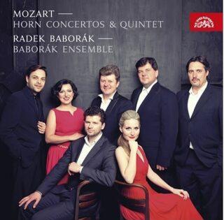 Mozart: Hornové koncerty - CD - Wolfgang Amadeus Mozart