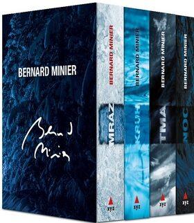4 x Bernard Minier - Mráz, Kruh, Tma, Noc - dárkový box (komplet) - Bernard Minier