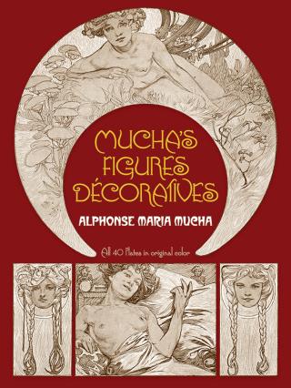 Mucha's Figures Décoratives - Alfons Mucha