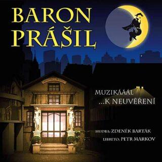 Muzikál - Baron Prášil - CD - neuveden