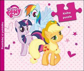 My Little Pony Kniha puzzle - Hasbro