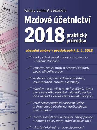 Mzdové účetnictví 2018 - Václav Vybíhal, kolektiv a - e-kniha