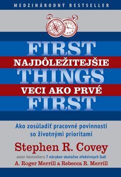Najdôležitejšie veci ako prvé First things first - Kolektiv