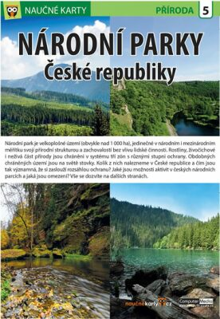 Národní parky ČR - Naučné karty - neuveden