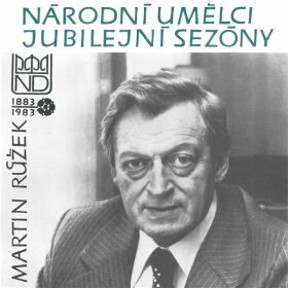 Národní umělci jubilejní sezóny - Martin Růžek - Jaroslav Vrchlický