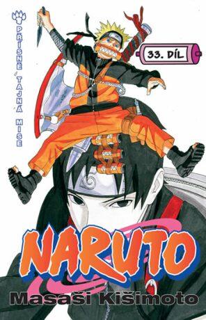 Naruto 33 Přísně tajná mise - Masaši Kišimoto