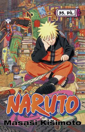 Naruto 35 Nová dvojka - Masaši Kišimoto