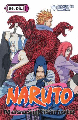 Naruto 39: Stahují se mračna - Masaši Kišimoto