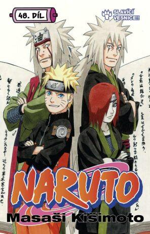 Naruto 48 Slavící vesnice!! - Masaši Kišimoto