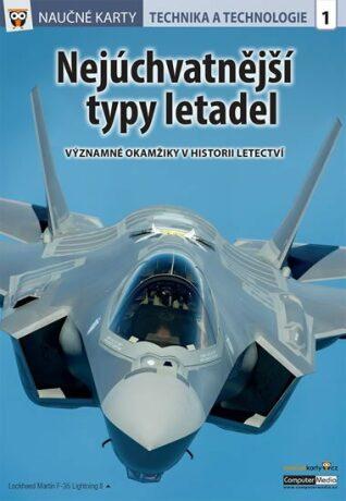 Naučné karty Nejúchvatnější typy letadel - neuveden