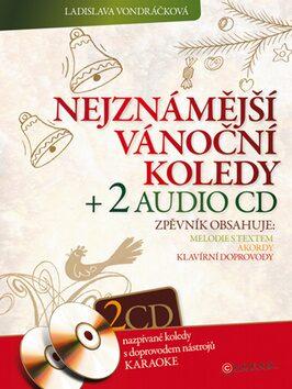 Nejznámější vánoční koledy + 2 audio CD - Ladislava Vondráčková