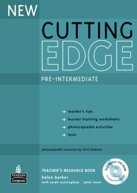New Cutting Edge Pre-Intermediate Teacher´s Book w/ Test Master CD-ROM Pack - Barker Helen