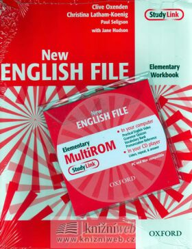 New English file elementary Workbook Key + CD ROM pack - Clive Oxenden, Christina Latham-Koenig