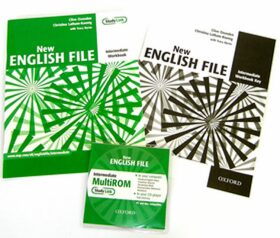 New English file intermediate Workbook key + CD-ROM pack - Clive Oxenden