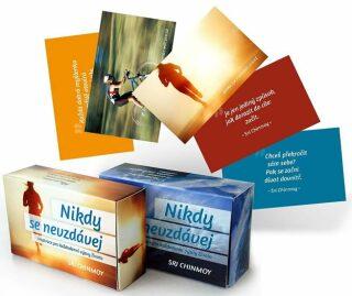 Nikdy se nevzdávej / Inspirace pro každodenní výzvy života - karty - Sri Chinmoy
