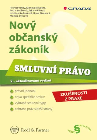 Nový občanský zákoník - Smluvní právo - Kolektiv