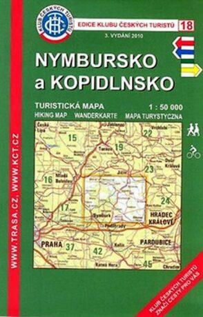 Nymbursko a Kopidlnsko 1:50.000 KČT 18 - neuveden