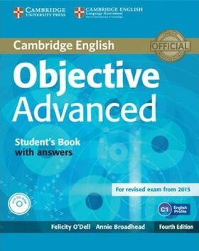 Objective Advanced Student´s Book with Answers with CD-ROM - Felicity O'Dell