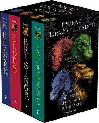 Odkaz Dračích jezdců – Eragon,Eldest,Brisingr,Inheritance - Christopher Paolini