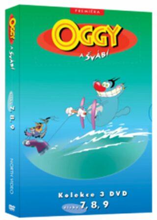 Oggy a švábi 7 - 9 / kolekce 3 DVD