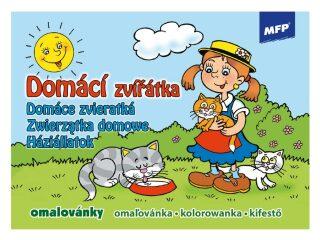 Omalovánky MFP Domácí zvířátka