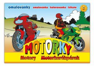 Omalovánky - Motorky