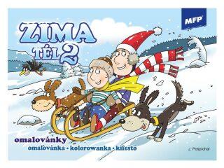 Omalovánky - Zima 2