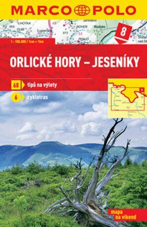 Orlické hory-Jeseníky 8 - mapa 1:100 000 - neuveden