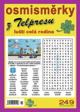 Osmisměrky z Telpresu luští celá rodina 1/18 - 249 osmisměrek - Pavel Mazáč