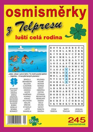Osmisměrky z Telpresu luští celá rodina 1/20 - 245 osmisměrek - Pavel Mazáč