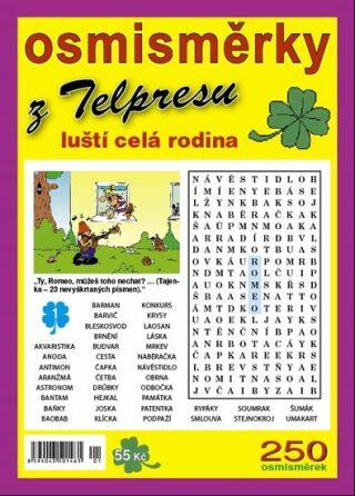 Osmisměrky z Telpresu luští celá rodina 1/2016 - 250 osmisměrek - Pavel Mazáč