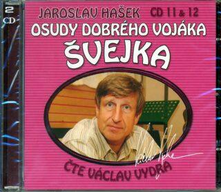Osudy dobrého vojáka Švejka CD 11 a 12 - Jaroslav Hašek
