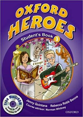 Oxford Heroes 3 Student´s Book with MultiRom Pack - Jenny Quintana, Rebecca Robb Benne