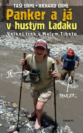 Panker a já v hustym Ladaku - Erml Taši a Richard