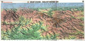 Panoramatická mapa Hrubý Jeseník -