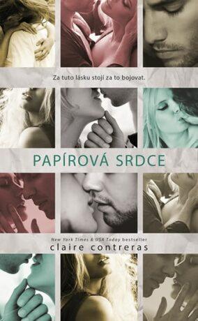 Papírová srdce - Contreras Claire