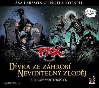 Pax 3 a 4: Dívka ze záhrobí a Neviditelný zloděj - Äsa Larssonová, Korsellová Ingela