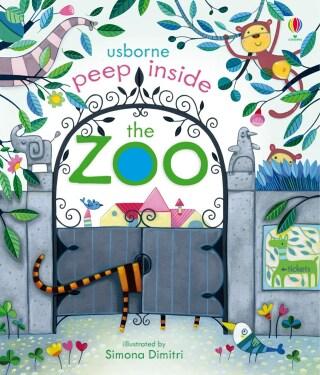Peep Inside Zoo - Anna Milbourneová