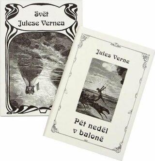 Pět neděl v baloně - Jules Verne