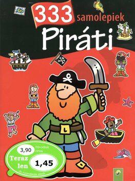 Piráti 333 samolepiek -