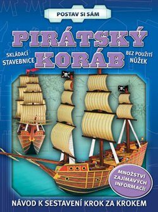 Pirátský koráb - postav si sám -