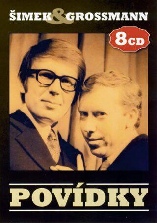 Povídky Šimek/Grossmann - 8 CD - Miloslav Šimek, Jiří Grossmann