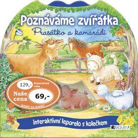 Poznáváme zvířátka – Prasátko a kamarádi - Kateřina Vranová