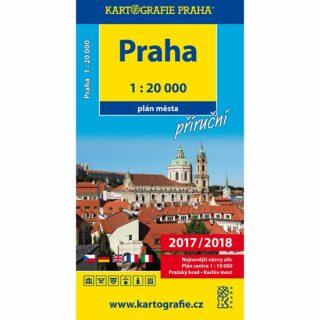 Praha - 1:20 000 plán města příruční - neuveden