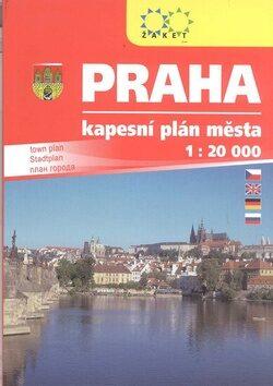 PRAHA kapesní plán A6 -