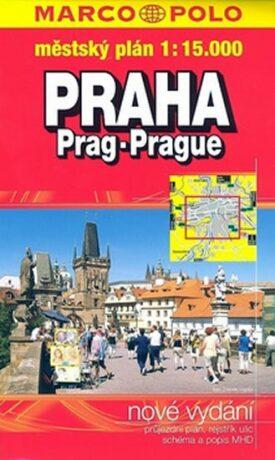 Praha - městský plán 1:15T - neuveden