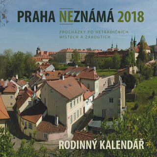 Praha neznámá 2018 - kalendář - Ryska Petr